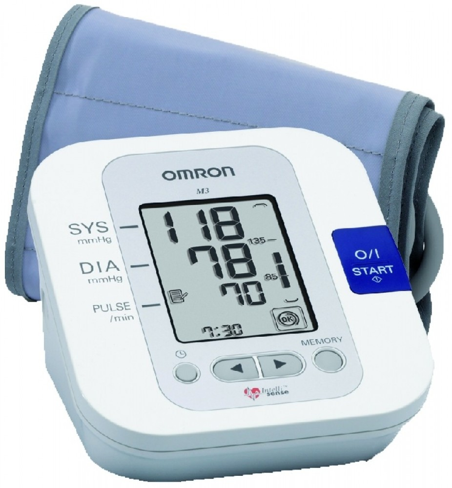 Felkaros vérnyomásmérő M3 OMRON - EGÉSZSÉGEMért.hu